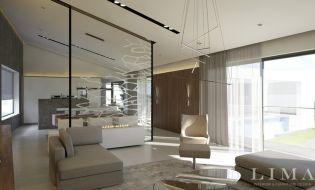 Szerethető minimál lakberendezés egy soproni családi házban Lima Design stílusban