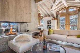 Otthonos hegyi szállás könnyed modern francia stílusban
