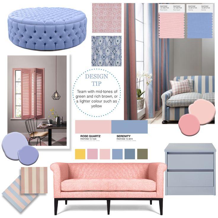 A Rose Quartz és Serenity Blue az új trendszínek