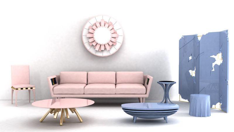 Rose Quartz és Serenity Blue a lakberendezés új árnyalatai