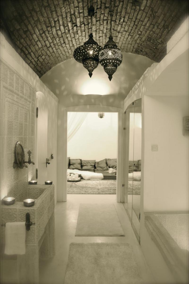 Marokkói hangulatú lakás