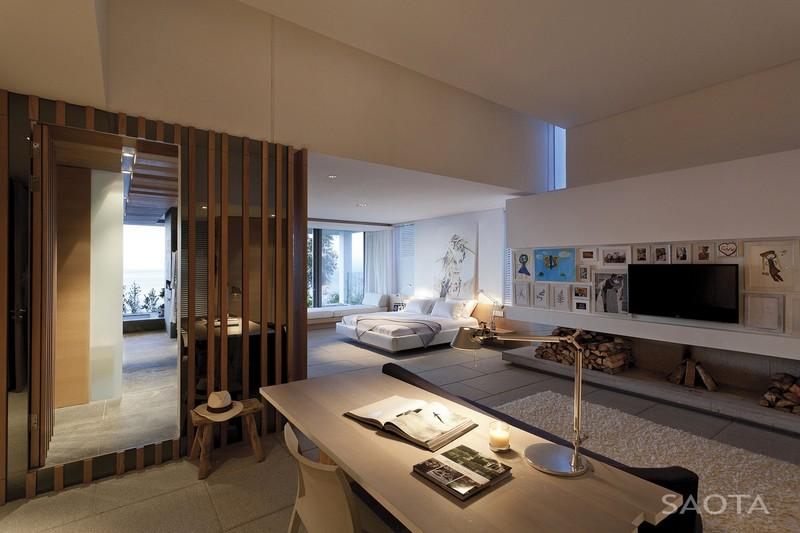 Laza és szellős hálószoba