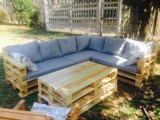 Raklapból készült bútorok kertbe, teraszra és verandára