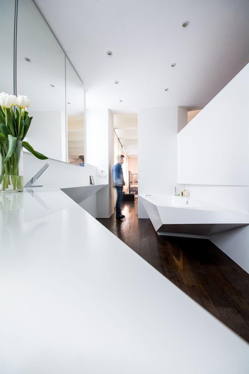 Jégtáblák inspirálták a fürdőkád tervezőit
