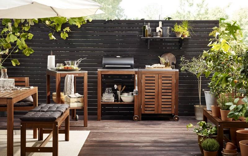Ikea bútor kerti grillekhez