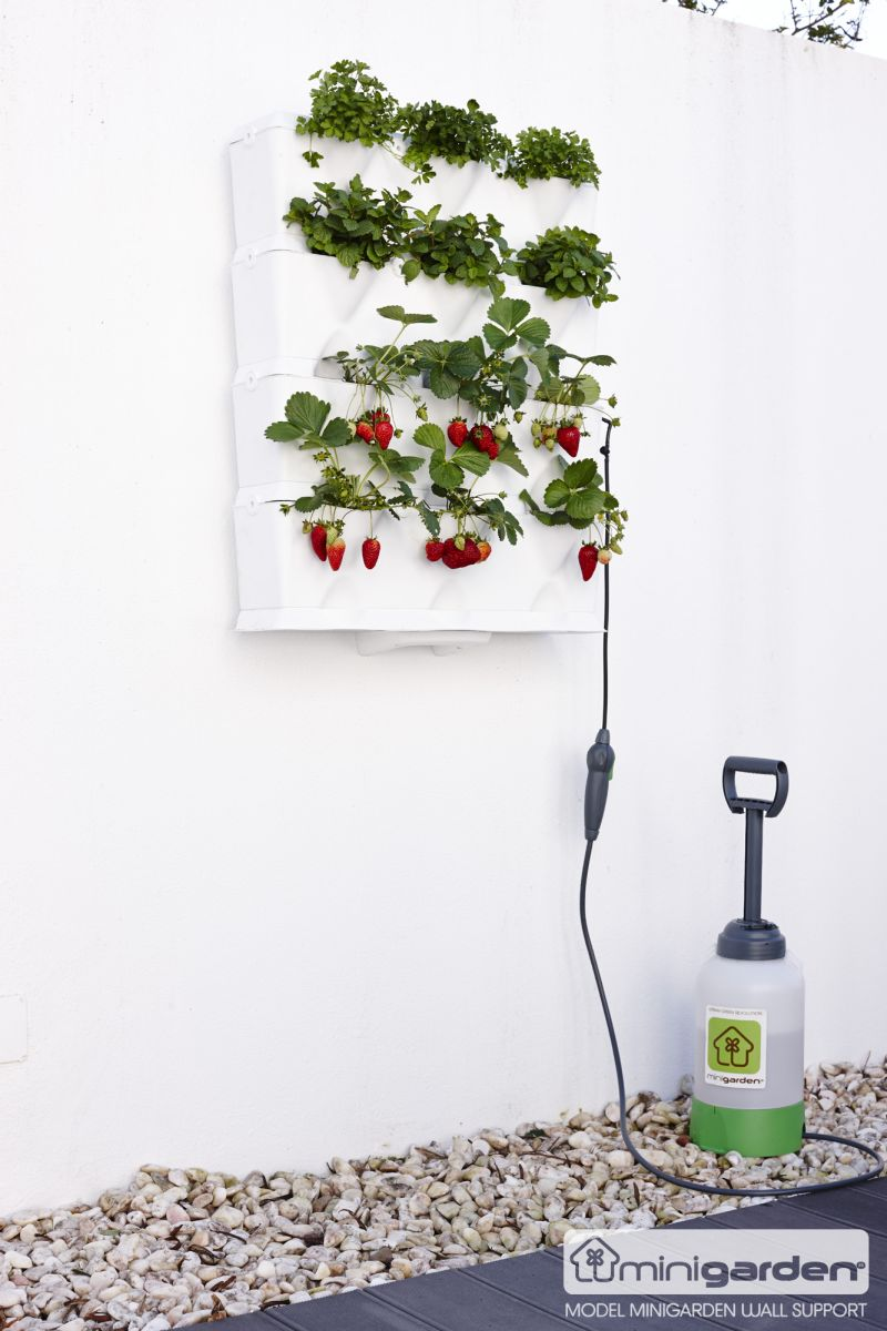 Minigarden Vertical fehér növénytartó