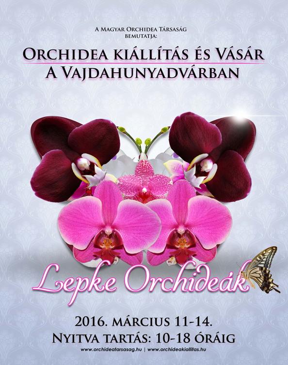 Orchidea Kiállítás Budapest 2016