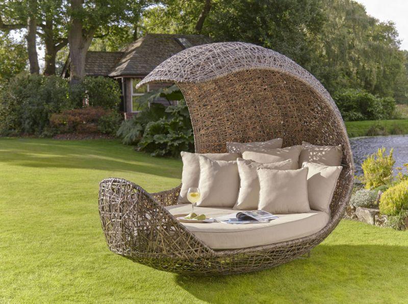 Lounge kétszemélyes kerti pihenőágy