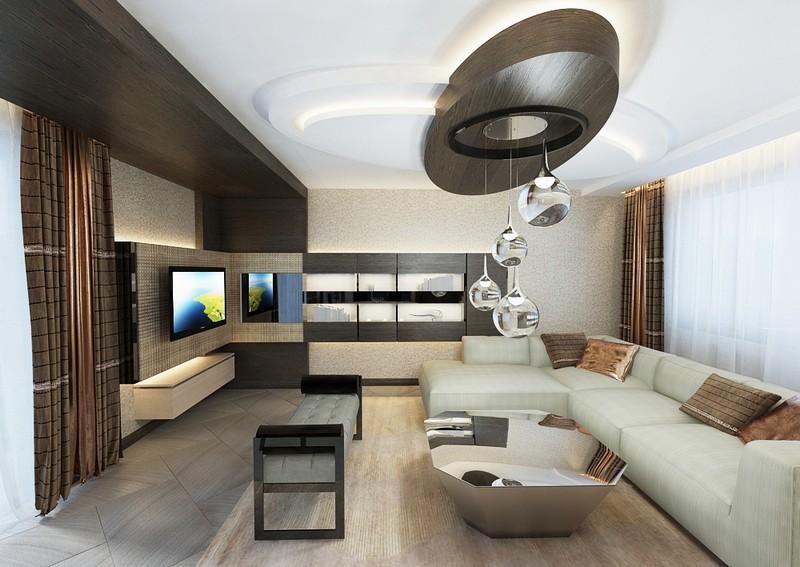 Modern nappali szekrény egyedi tervezés Dóró Judit lakberendező