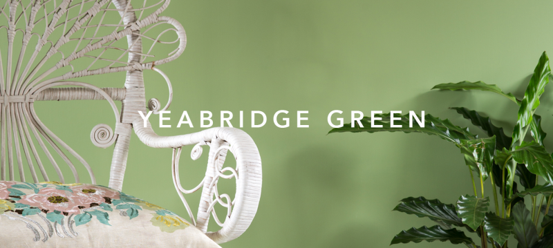 Yeabridge green farrow and ball