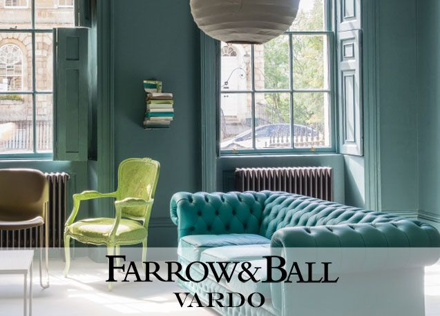 Farrow and Ball vardo színek