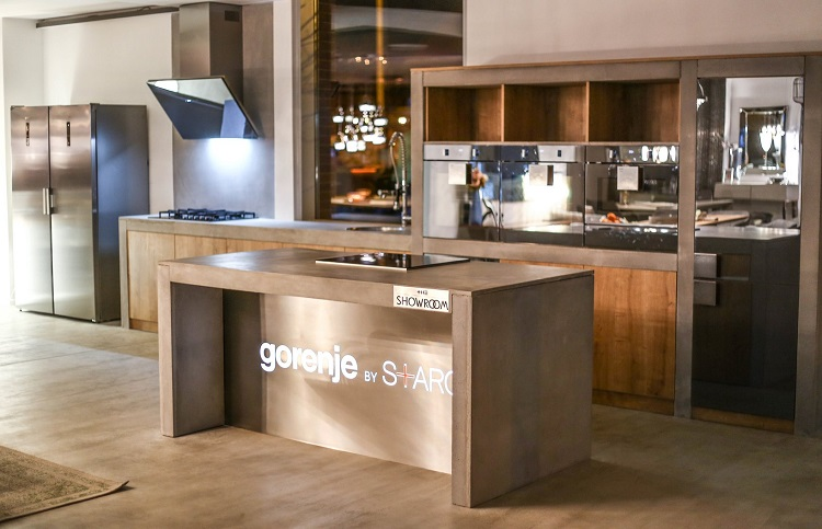 The Showroom bemutatóterem Starck Gorenje