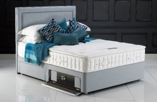 Hypnos luxuságy beépített széffel a nyugodt alvásért