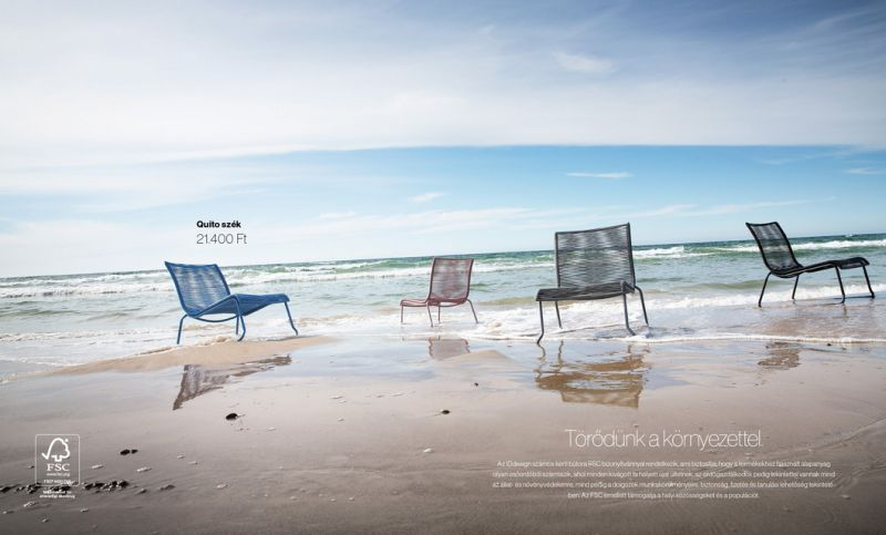 IDdesign szék kerti bútor