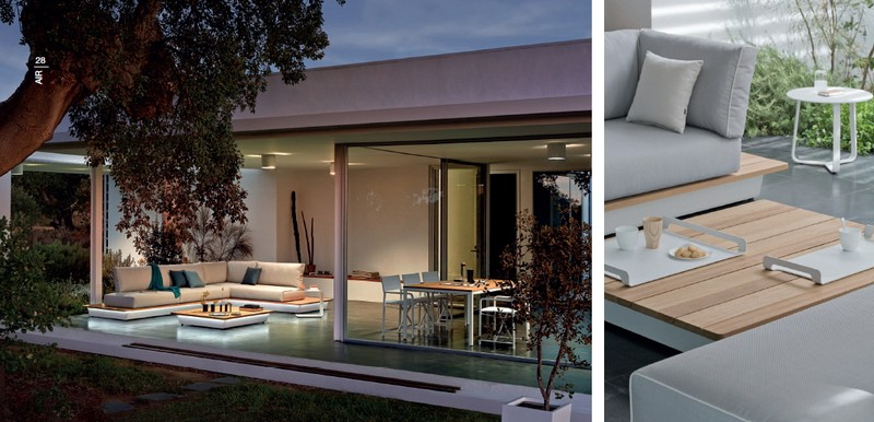 Tectona Garndis Air lounge kerti és kültéri garnitúra