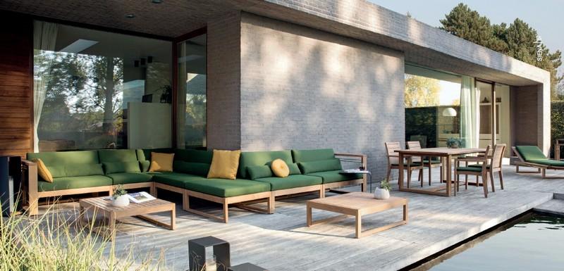 Tectona Garndis Siena lounge kerti és kültéri garnitúra