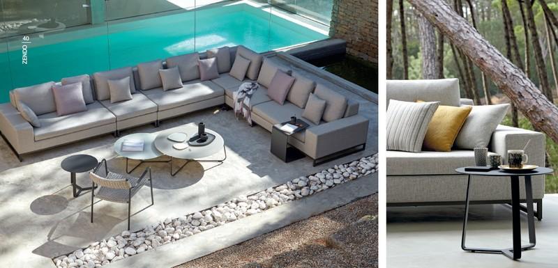 Tectona Garndis Zendo lounge kerti és kültéri garnitúra