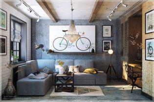Minden megvan benne ami kell - Kuckós mini nappali eklektikus lakberendezési stílusban