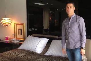 Cristiano Ronaldo megmutatja milyen házban él