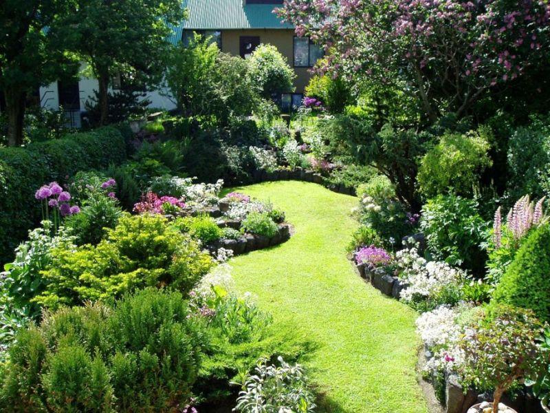 Kerti növények ültetése térnövelő ötlet