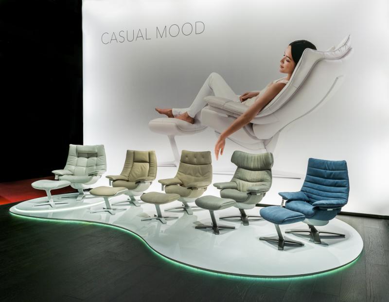 Re Vive relax fotel színek