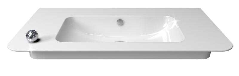 CataGlaze máz mosdón hófehér mosdó
