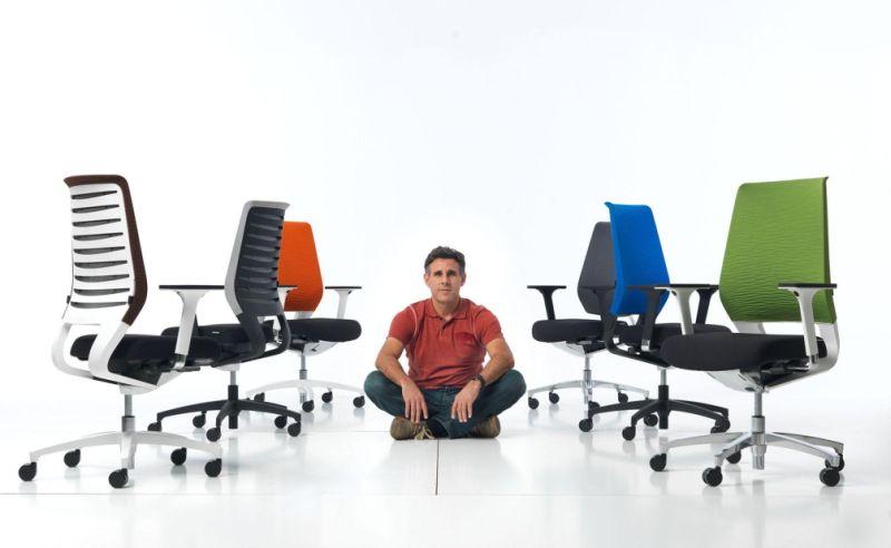 Dauphin X-Code ergonómikus irodai széke