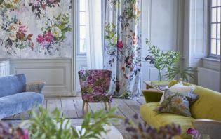 A kert flórája és faunája nyomott lakástextileken - Designers Guild Jardin des Plantes
