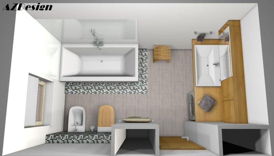 Andok Zsuzsanna lakberendező fürdőszoba látványterv