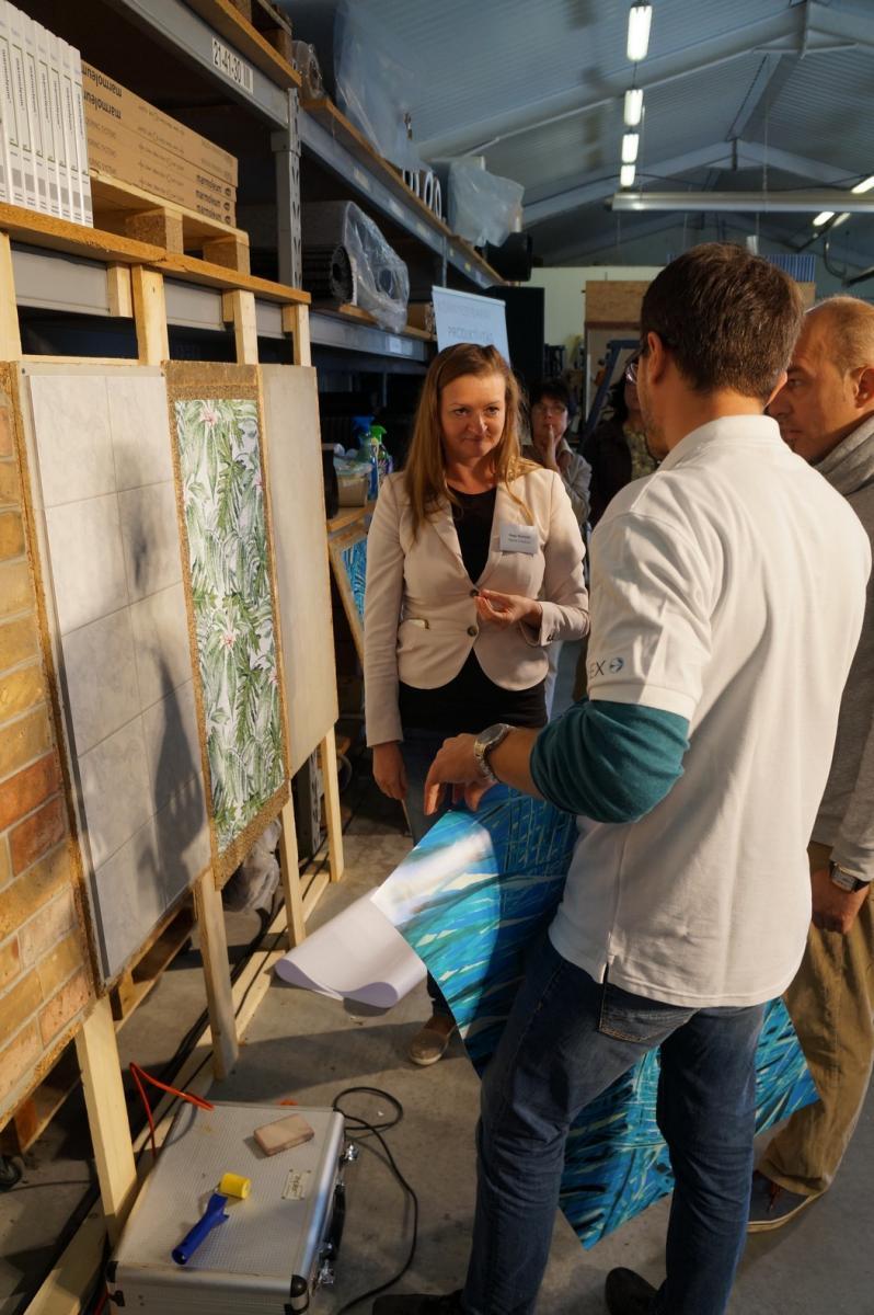 Cleartex workshop tapéta ragasztás többféle falfelületre