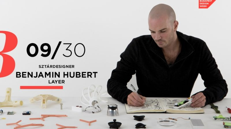 Design Hét Budapest 2016 Benjamin Hubert