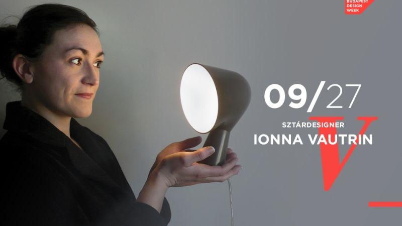 Design Hét Budapest 2016 Ionna Vautrin