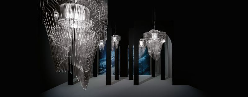 Zaha Hadid Aria lámpa Slam