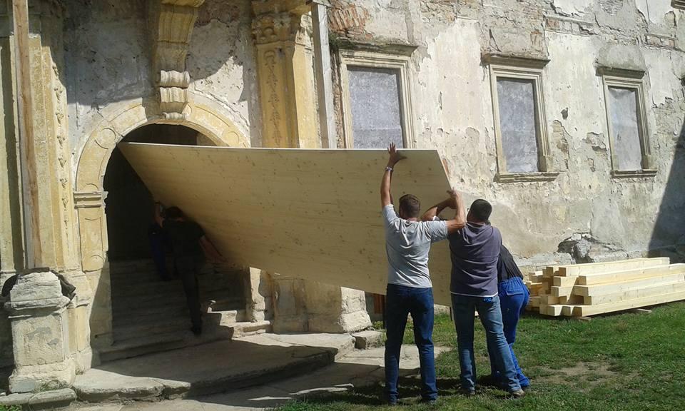 bonchidai Bánffy kastély felújítása