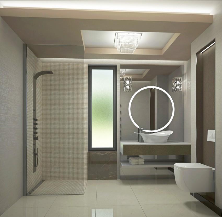 New art deco vendég fürdőszoba