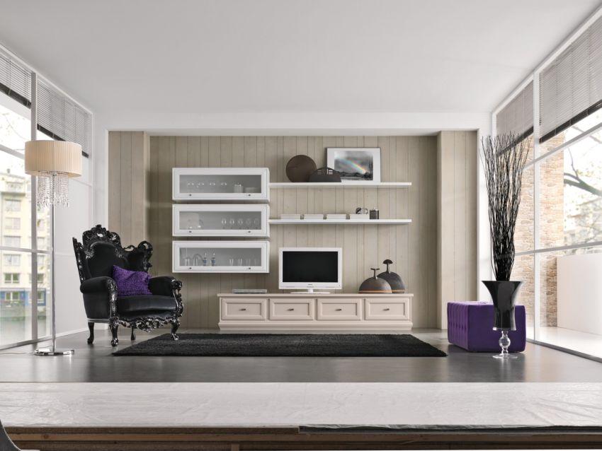 Olasz glamour nappali bútor Monte Grappa Mobili