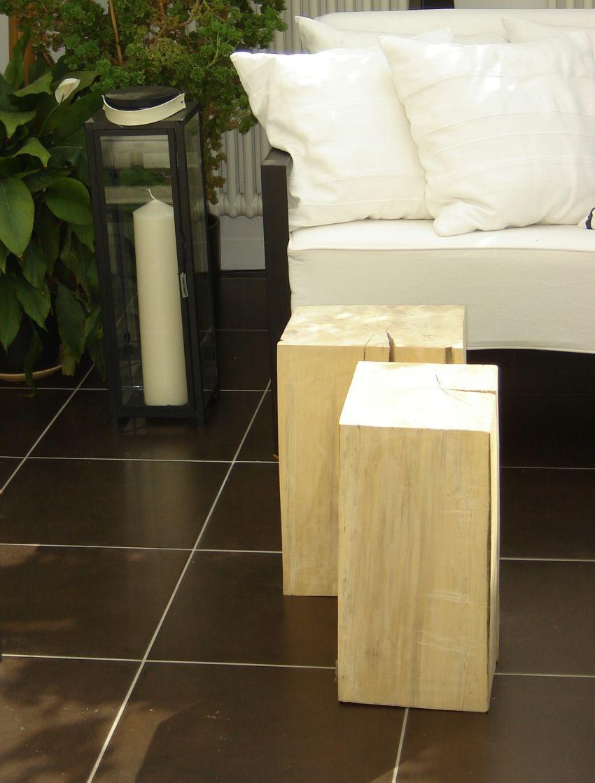 Tömörfa székek Lókai Teréz lakberendező