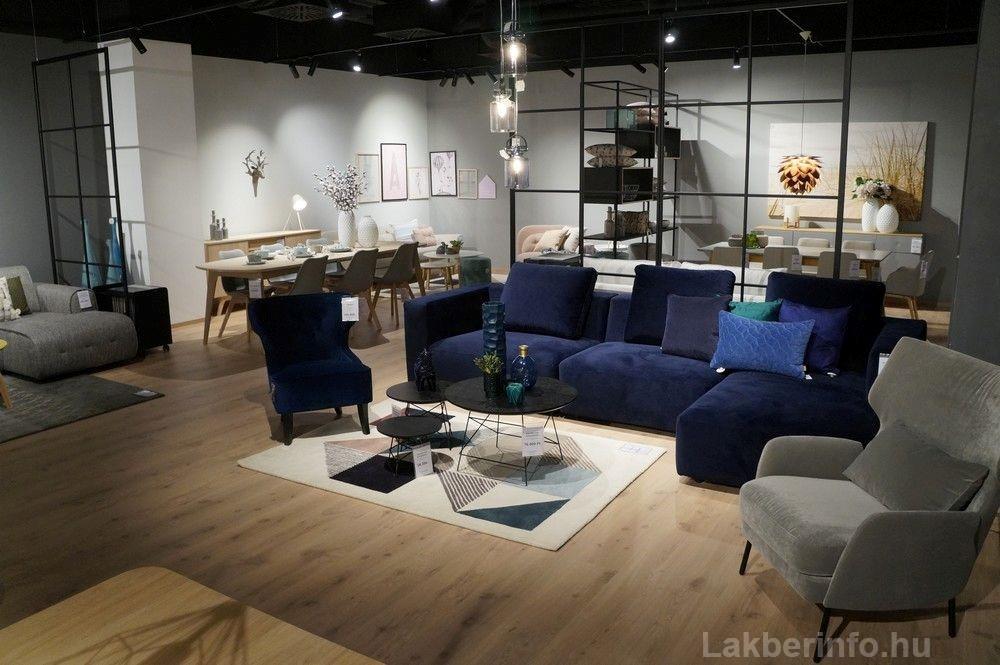 Új lakberendezési üzletet nyitott az IDdesign a Váci Cornerben kanapék
