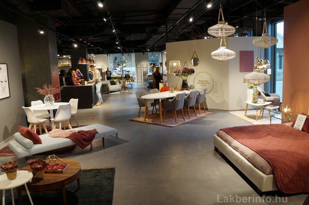Új lakberendezési üzletet nyitott az IDdesign a Váci Cornerben étkezők