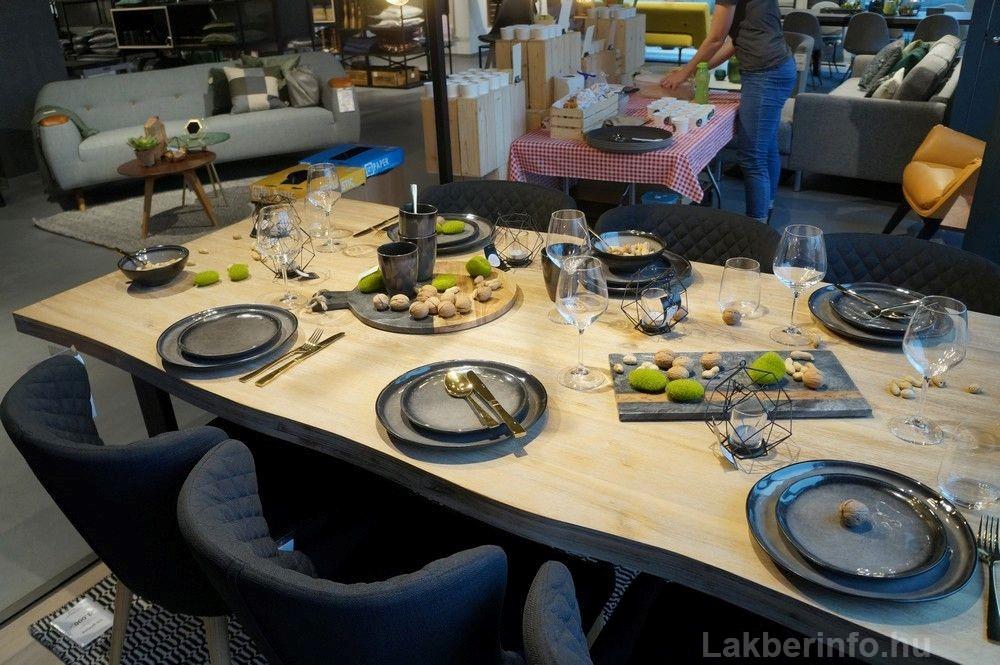 Új lakberendezési üzletet nyitott az IDdesign a Váci Cornerben étkészletek
