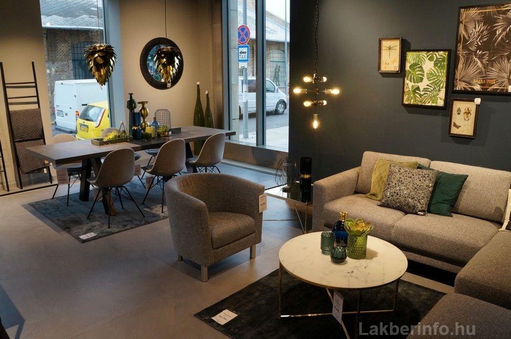 Új lakberendezési üzletet nyitott az IDdesign a Váci Cornerben kicsi modern étkezők