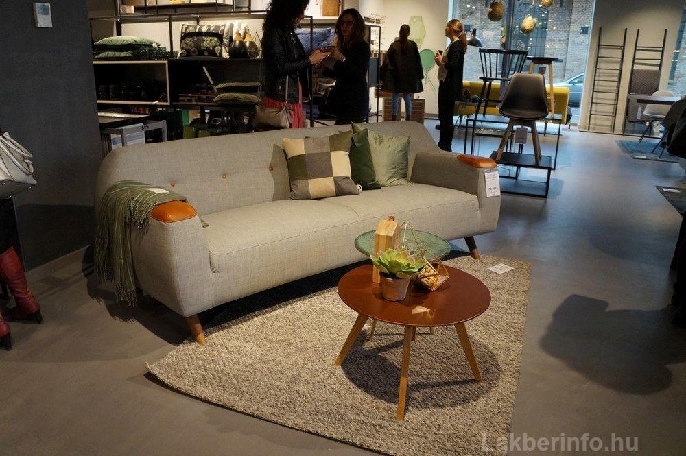 Új lakberendezési üzletet nyitott az IDdesign a Váci Cornerben kanapé bőr karfával
