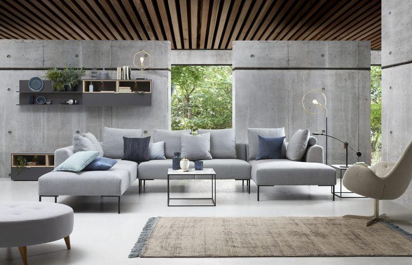 IDdesign szürke kanapé