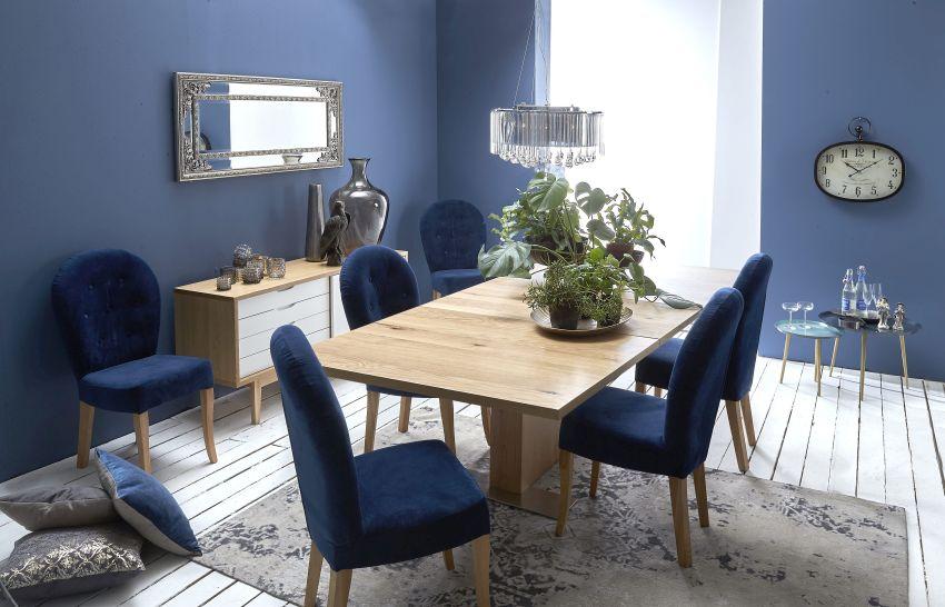 IDdesign kék étkezőszékek