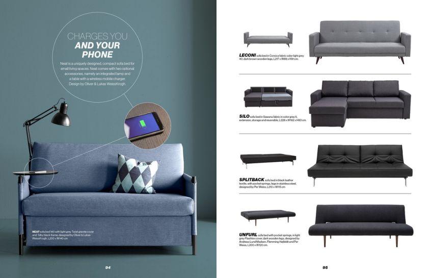 IDdesign kinyitható kanapé
