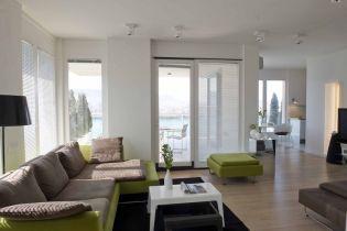 Dunára néző 120 nm-es budapesti lakás megújult belső terekkel