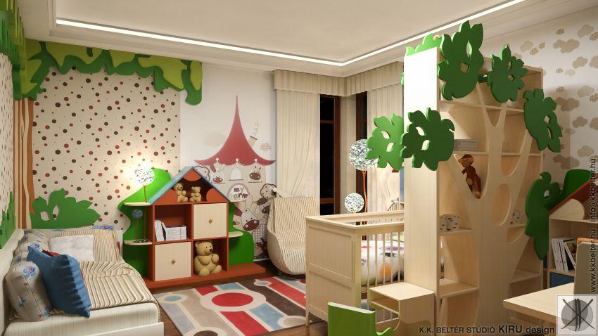 Gyerekszoba lakberendezési ötletek