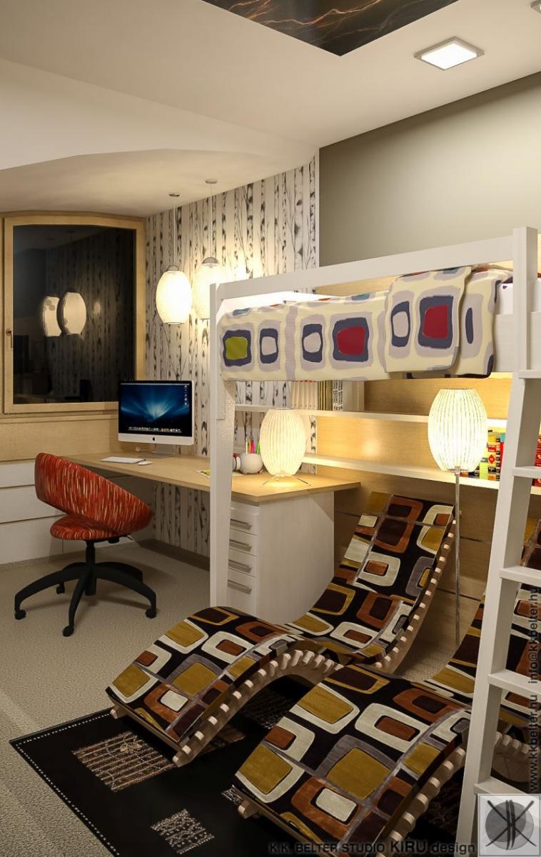 Tini fiúszoba lakberendezési ötlet AC DC