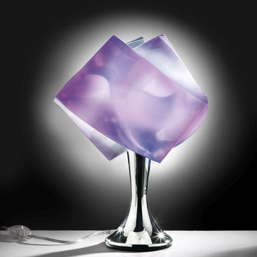 Színes búra asztali lámpa