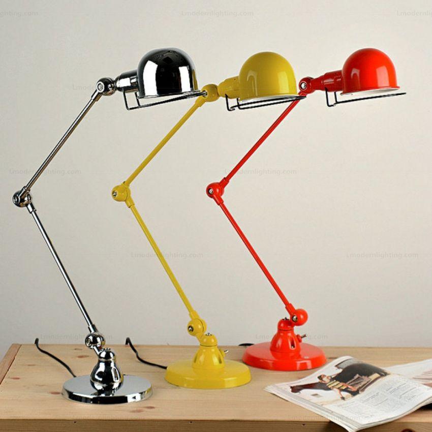 Színes Jieldé asztali lámpa